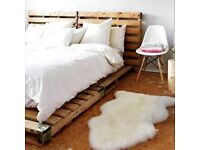 WANTED wood pallets for a bed