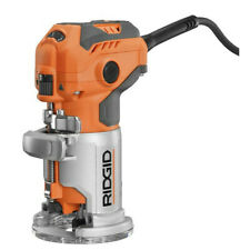 Ridgid ZRR2401 120V 1.6 HP Variable-Speed Laminate Trimmer Reconditioned