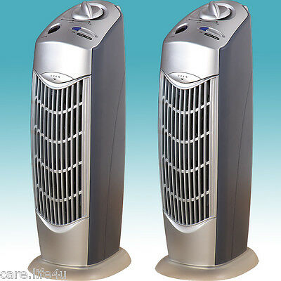 2 NEW IONIC AIR PURIFIER PRO IONIZER ION FRESH BREEZE UV OZONE CLEANER AP08