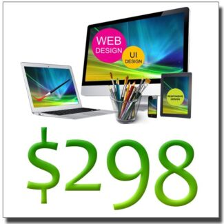 Stylish Custom Web Design $298