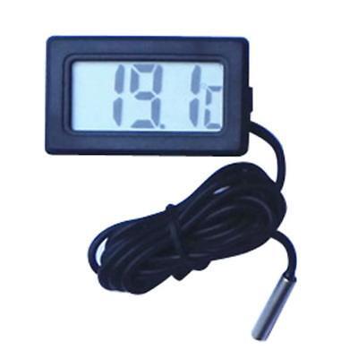 1m Mini Thermometer Temperature 1.5v Meter Digital Lcd Display Black Hot Sale