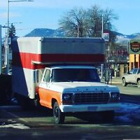 2 Men and U-Haul Truck For Moves