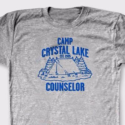 Camp Crystal Lake Counselor Friday the 13th T-shirt retro Tee Shirt