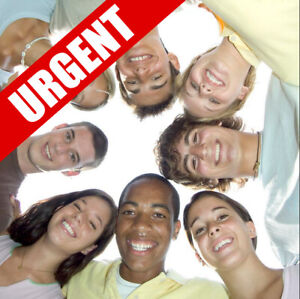 URGENT - BECOME A FOSTER PARENT TODAY!