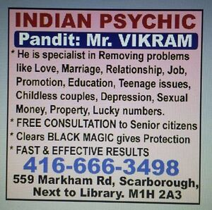 INDIAN ASTROLOGER AND PSYCHIC  Peterborough Peterborough Area image 10