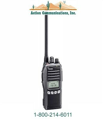 New Icom Ic-f3161s-56 Vhf 136-174 Mhz 5 Watt 512 Channel Two Way Radio