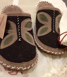 Gorgeous sued leather slippers $20 retail$69.99 BRAND NEW!!