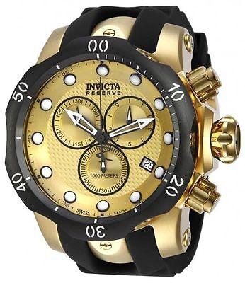 Swiss Made Invicta 16150 Reserve Venom Chronograph Mens Watch + 1-Slot Dive Case
