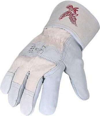 Asatex - Adler C - Rindnarbenleder-Handschuhe, Gr. 10,5 - Adler Handschuhe