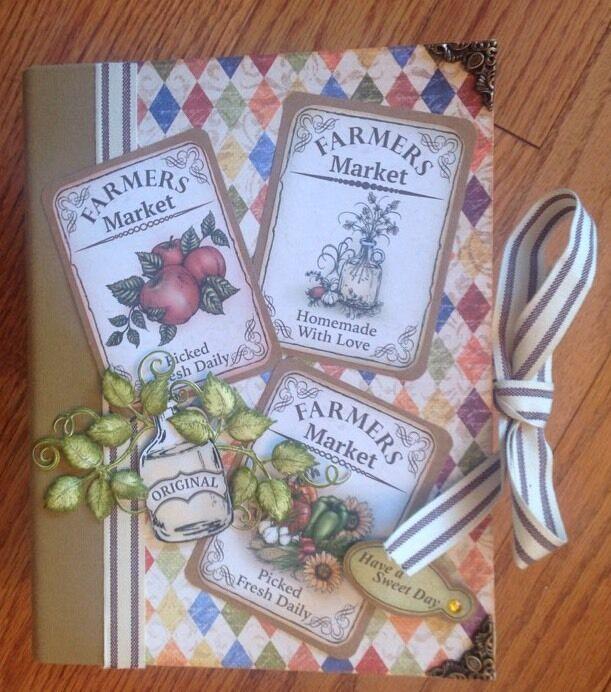 Handmade Album using Heartfelt Creations Farmers Market Collection