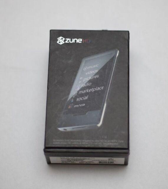 Microsoft Zune HD 16GB Video MP3 Player New open box