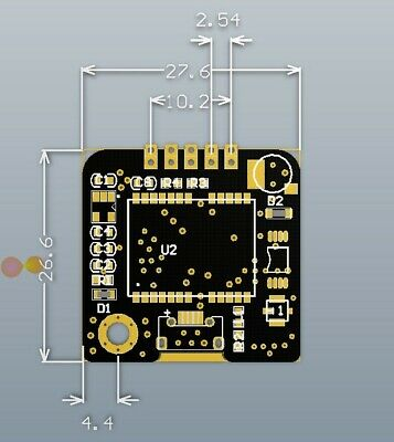 1pc Gps Module Gt-u7 Compatible With Neo-6m With Eeprom Navigation