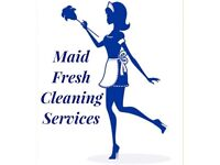 Maid fresh Domestic and Commercial cleaning services covering Flintshire area