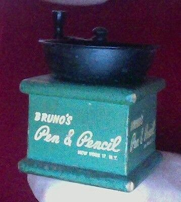 Pen & Pencil Restaurant Pepper Grinder - IT'S NYC HISTORY!☞Buy Now Or Send Offer