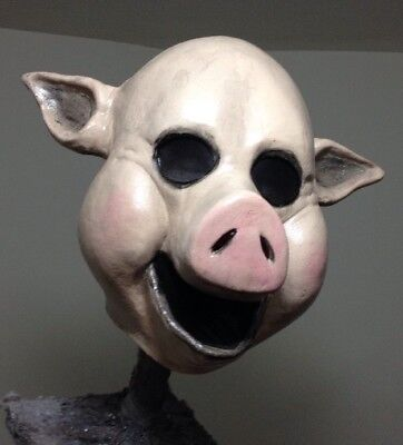 Creepy Pig mask Horror Scary Halloween Mask Clown - Creepy Pig Maske