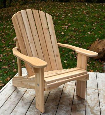 Classic Cedar Adirondack Chair - Handmade by Ozark Mountain Furniture