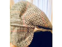 flat cap with ear covers