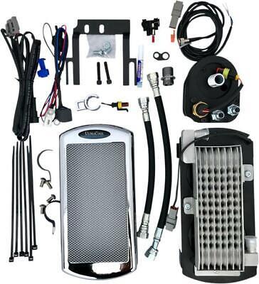 UltraCool Above Regulator Mount Oil Cooler Kit Chrome #ST-1C Harley Davidson