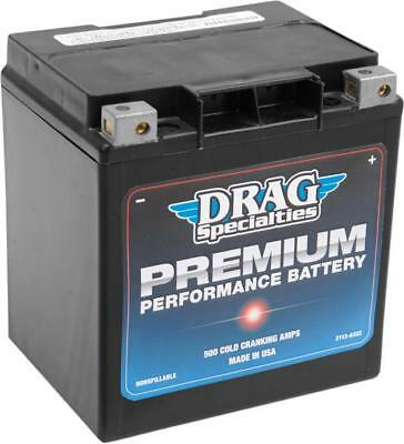 Drag Specialties Premium Performance AGM Battery Harley Davidson DRGM732GH