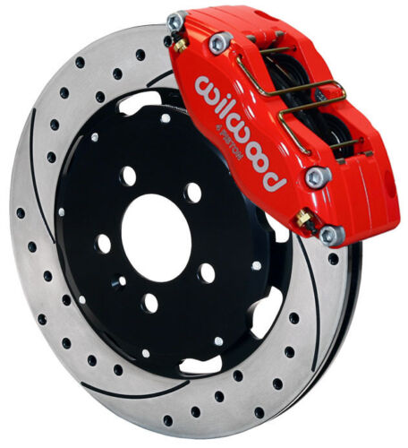 "Wilwood Disc Brake Kit,front,audi Tt,volkswagen Beetle,golf,jetta,12"",red,drill."