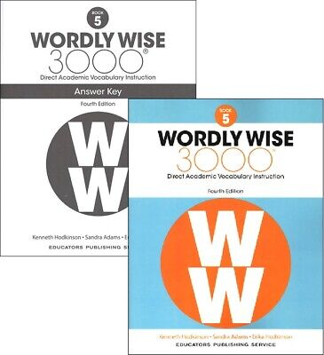 4TH EDITION Wordly Wise 3000 Grade 5 SET -- Student and Key NEW