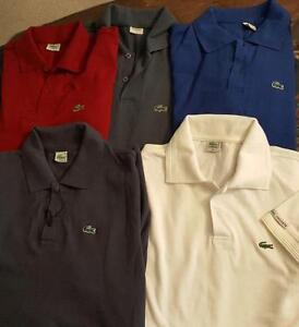 Five NEW POLOS- Never Worn