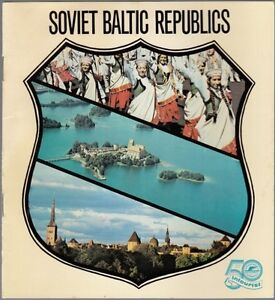 27908-1979-LATVIAN-SOVIET-SOCIALIST-BALTIC-REPUBLIC-TRAVEL-BROCHURE
