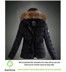 Moncler Coat -- Read the ad description before replying!!