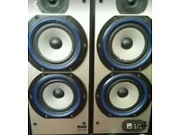 B&W DM220 HOME VINTAGE SPEAKERS