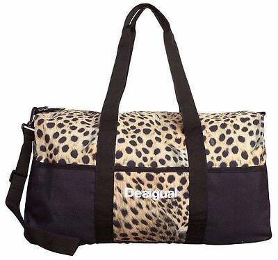 DESIGUAL Bolsa Sport Life Wild - Bag - Tasche - Sac - Nuevo 6920c6b4e7757