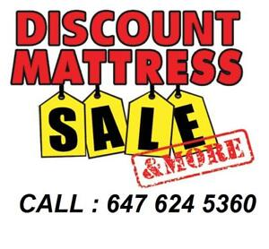 MATTRESS SALE !! MATTRESS SALE !! BRAND NEW CALL 647 624 5360