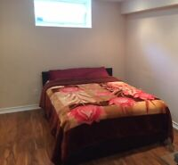Big, Basement Room with Private Bathroom (couple preferred)