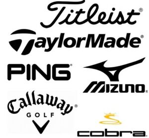 Searching for Titleist, Taylormade & Ping [LH]