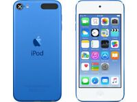 iPod Touch Blue 16gb 6th Generation BRAND NEW SEALED