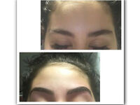 Brows, OPI gel nails, Lycon hot wax, strip wax