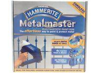 Hammerite metal master paint gun