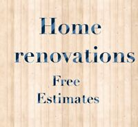 Winter discounts for home renovations!