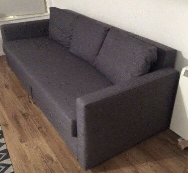 Ikea Friheten Grey 3 Seat Sofa Bed Great Condition Can Deliver