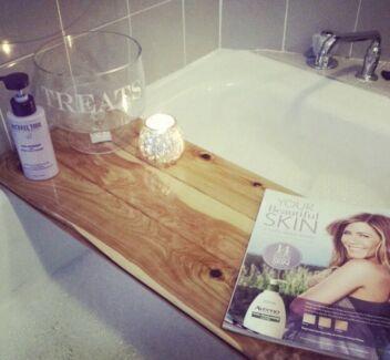 Handmade Timber Bath Caddys