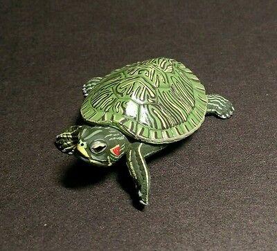 Yujin (Like Kaiyodo Takara) Red Ear Slider Turtle Replica PVC Figure Model