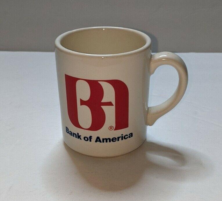 Vintage Bank Of America Coffee Mug. Used.