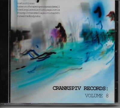 Crankspiv Records Vol 8  2004  Cd Compilation Indie Release   New Factory Sealed