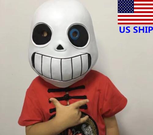 US!Halloween Undertale Legend Sans Children Mask Cosplay Hea
