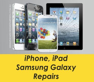 iPhone Screen Repair 6 5 5s 5c 4s 4 iPad 2 Air Fix Perth Galaxy S Perth CBD Perth City Preview