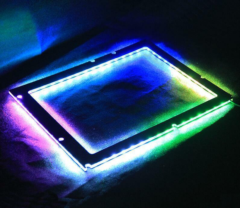 как выглядит Motherboard luminescent pad chassis light board backplane bracket Symphony ARGB фото