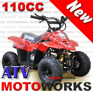 Motoworks 110CC Sports QUAD ATV Dirt Bike Gokart 4 Wheeler Buggy Campbellfield Hume Area Preview