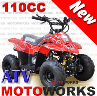 Motoworks 110CC Sports QUAD ATV Dirt Bike Gokart 4 Wheeler Buggy