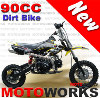 NEW MOTOWORKS 90cc MOTOR TRAIL DIRT PIT THUMPSTAR BIKE Campbellfield Hume Area Preview