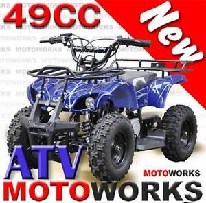 NEW 49CC ATV QUAD MOTOWORKS FARM 4 Wheeler DIRT Bike Campbellfield Hume Area Preview
