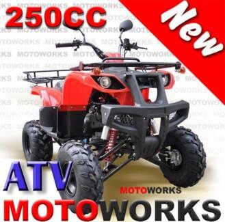 NEW MOTOWORKS 250CC FARM ATV QUAD 4 Wheeler Bike